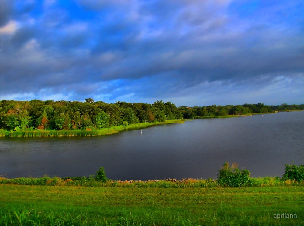 Texas Lake in HDR by aprilann