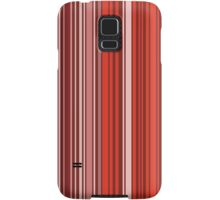 Many colorful stripe pattern in red on Samsung Galaxy S5 Snap Cases by pASob-dESIGN | Redbubble