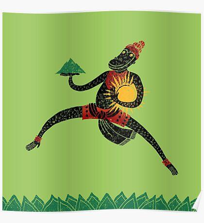 Hanuman's Leap Poster
