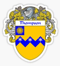 Thompson Coat of Arms / Thompson Family Crest Sticker