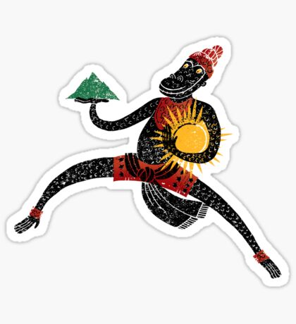Hanuman's Leap Sticker