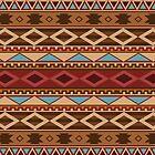 Navajo Native American Pattern by thepixelgarden