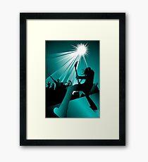 Stage Warrior Framed Print