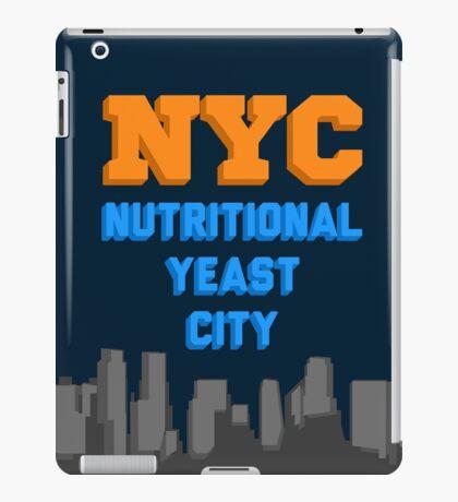 Nutritional Yeast City iPad Case/Skin