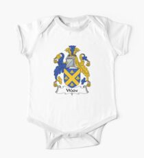 Wade Coat of Arms / Wade Family Crest One Piece - Short Sleeve