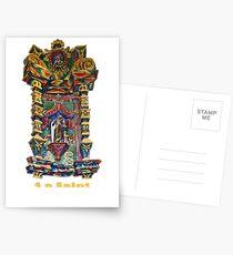 4 a Saint Postcards