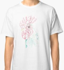Rooster Typography Classic T-Shirt