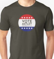 Vote Astley Unisex T-Shirt