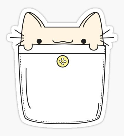 Pocket Cat Sticker