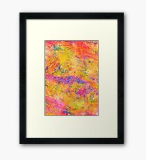 Italy - Abstract Print  Framed Print