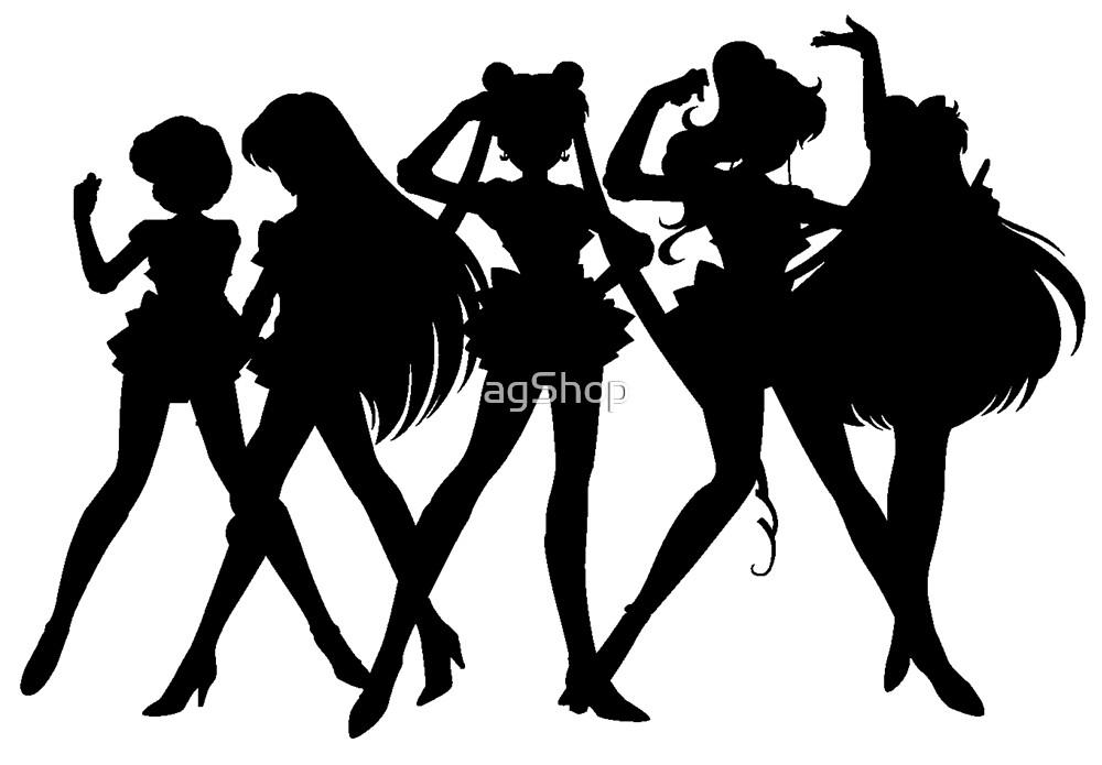 Sailor Moon - Black by agShop