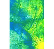 Ocean Pasture - Abstract Print Photographic Print
