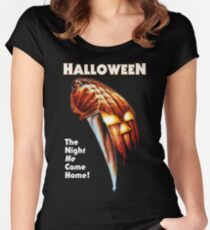 HALLOWEEN - The Night He Came Home! Women's Fitted Scoop T-Shirt