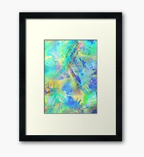 Neon - Abstract Print Framed Print