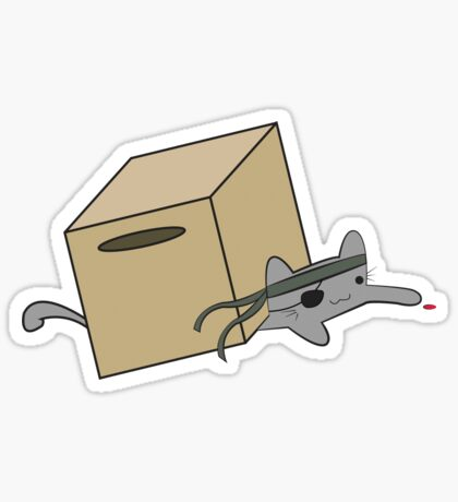 Metal Gear Kitty Sticker