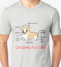 Anatomy of a Corgi T-Shirt