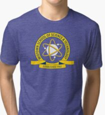 Midtown School of Science and Technology Logo Tri-blend T-Shirt