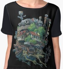 8bit Howl's Moving Castle Women's Chiffon Top