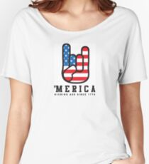 4th of July Tank Top - Merica Women's Relaxed Fit T-Shirt