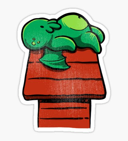 Cthuloopy Sticker