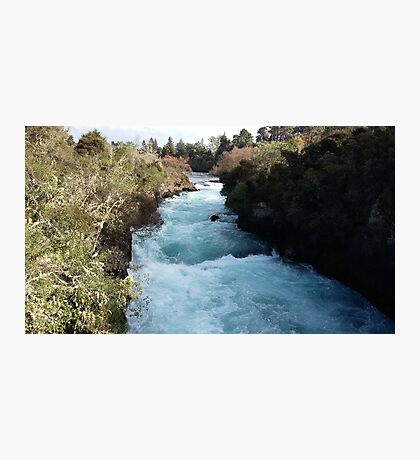 Blue Ribbon River Photographic Print