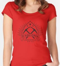 D'Anconia Copper Women's Fitted Scoop T-Shirt