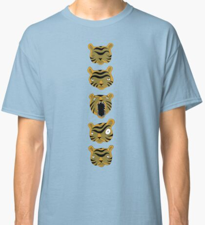 Tiger Buttons Classic T-Shirt