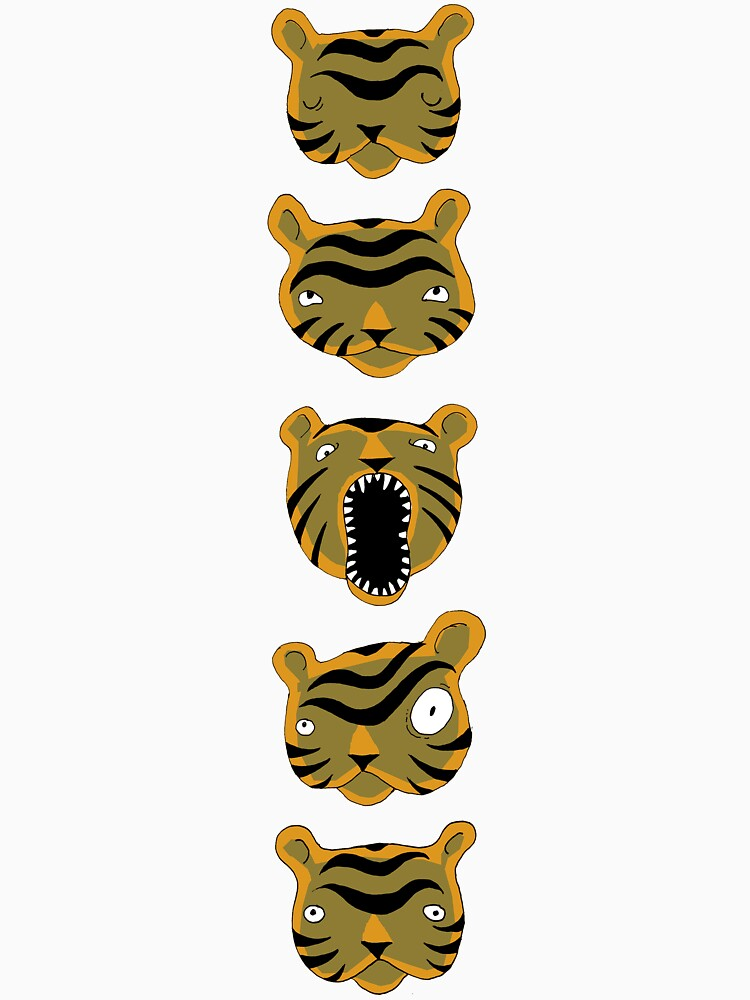 Tiger Buttons by SusanSanford