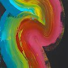 happy rainbow by Bettina Kusel