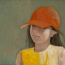 Kind mit Hut by Bettina Kusel