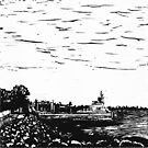Stradbroke Ferry by SpottiClogg