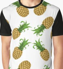 Pineapple exotic juicy fruit Graphic T-Shirt