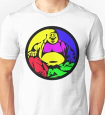 Rainbow Buddha Unisex T-Shirt