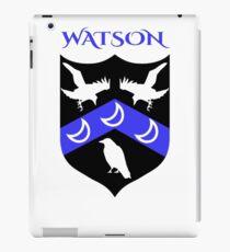 WATSON COAT OF ARMS iPad Case/Skin