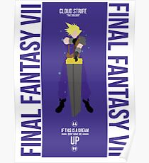 Cloud Strife FFVII  Poster