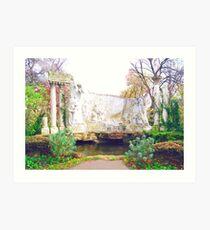 Apollo Garden Art Print
