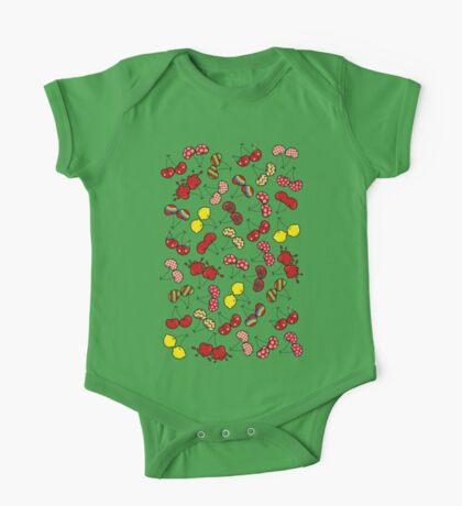 Oh, I'm Mad About Cheeky Cherries Pattern Kids Clothes