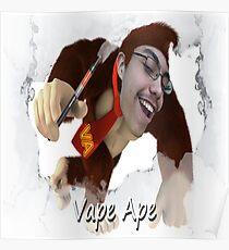 Vape Ape Poster