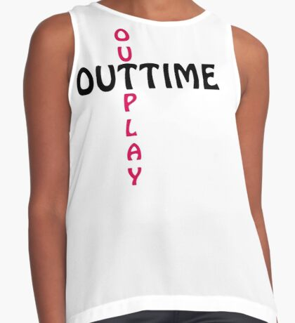 outtime / outplay Contrast Tank