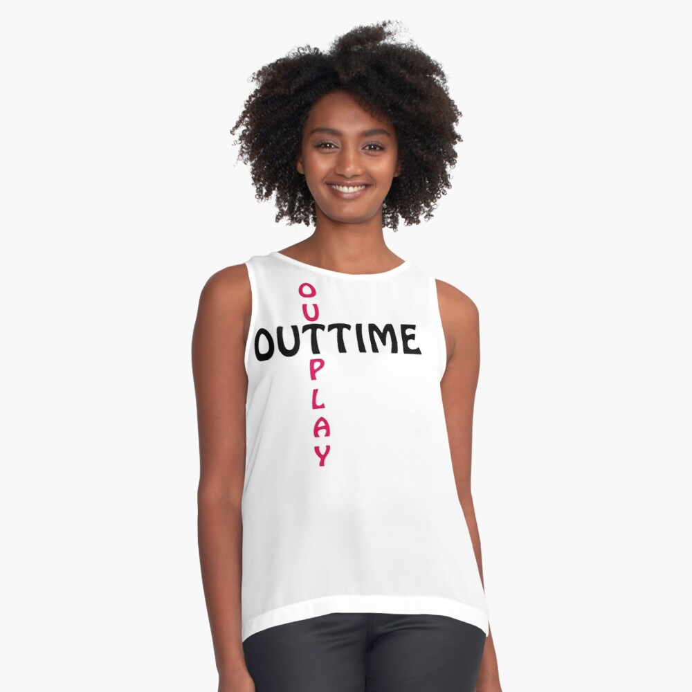 outtime / outplay Sleeveless Top