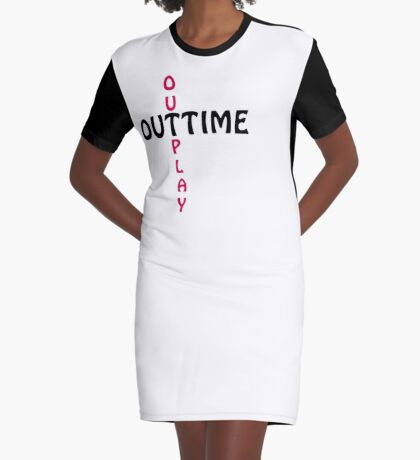 outtime / outplay Graphic T-Shirt Dress