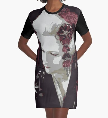 submissive Geisha T-Shirt Kleid