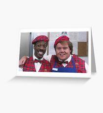 Coming to America - Akeem & Maurice Greeting Card