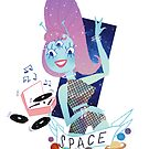 Space Babe by Lucie Irvine
