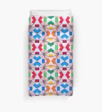 Colored Pencil Tips Duvet Duvet Cover