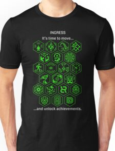 Ingress Achievements Enlightened Unisex T-Shirt