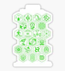 Ingress Achievements Enlightened Sticker