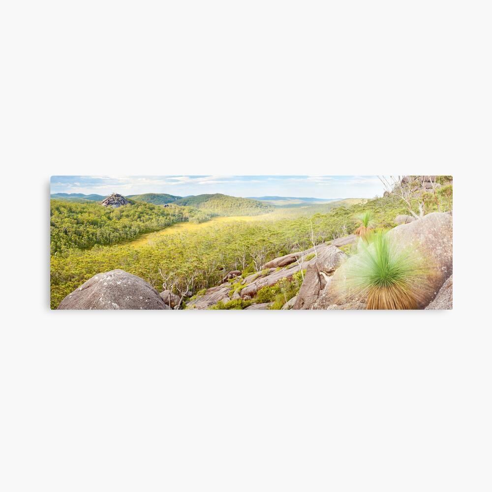 Dandahra Crags, Gibraltar Range National Park, New South Wales, Australia Metal Print