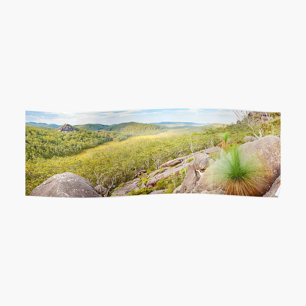 Dandahra Crags, Gibraltar Range National Park, New South Wales, Australia Poster