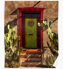 Verdugo House, Tucson, Arizona Poster